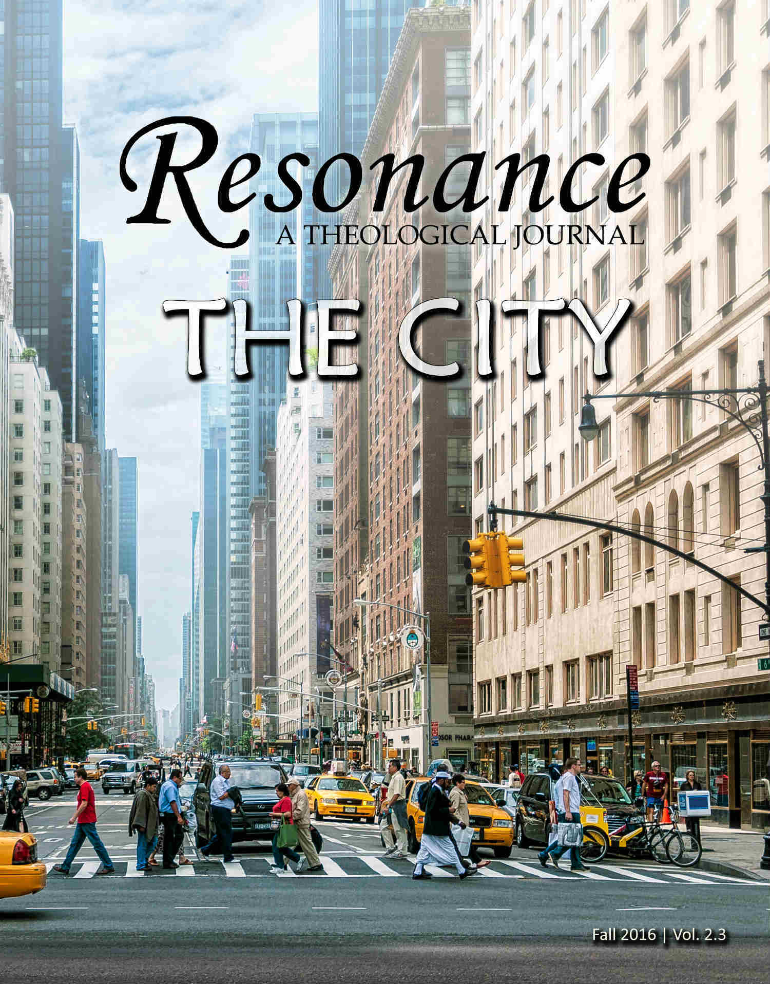 Resonance Theological Journal Vol 2.3 The City Cover